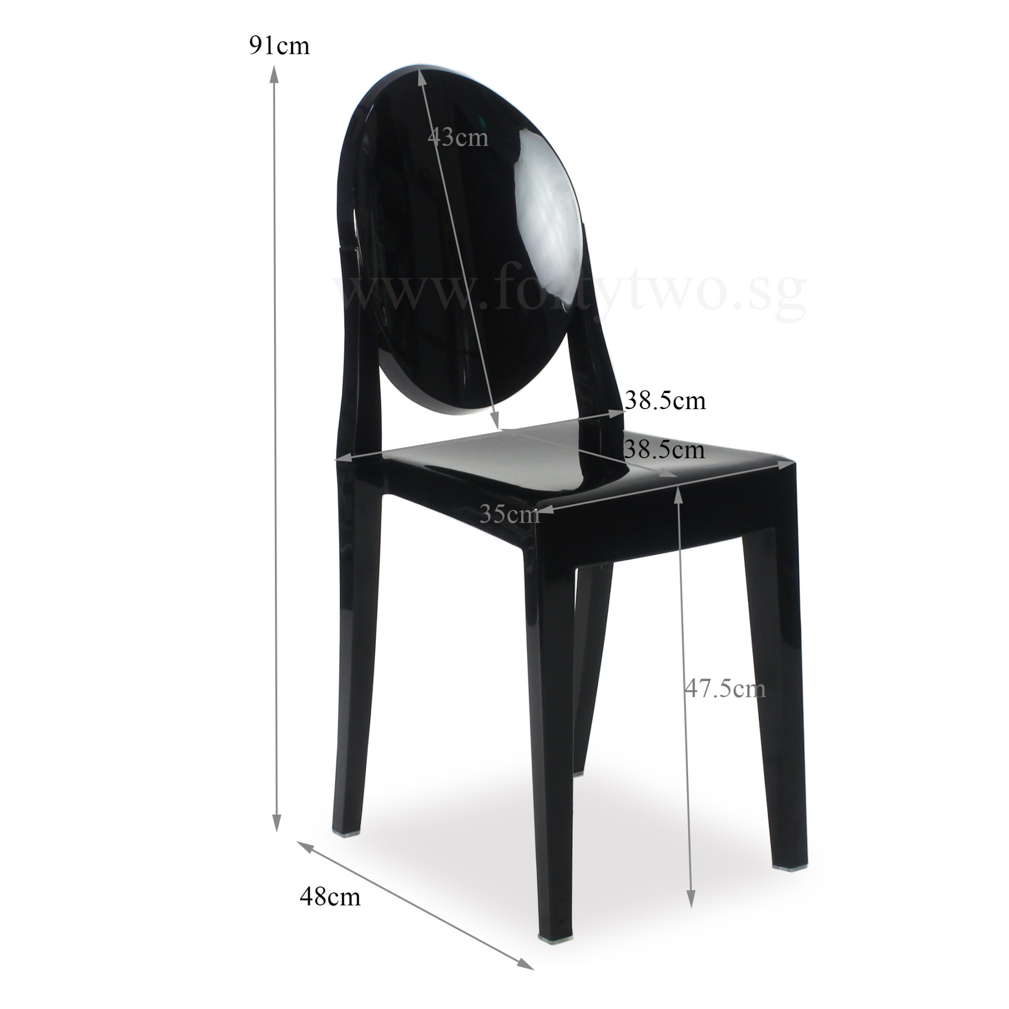 Ghost Chair Replica Designer Replica Louis Ghost Chair Black Furniture