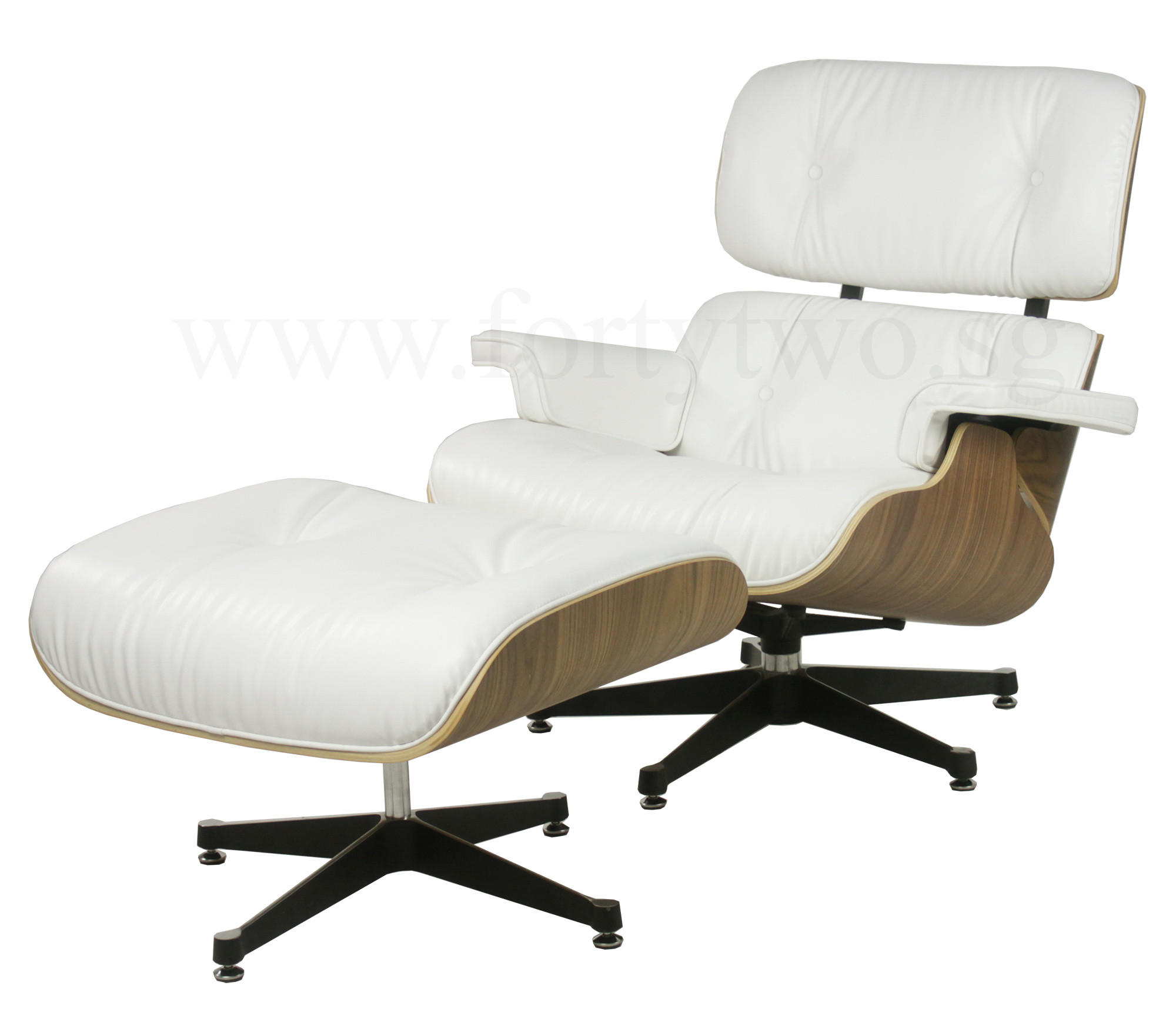 Eames Chair Price Designer Replica Eames Lounge Chair White Leather