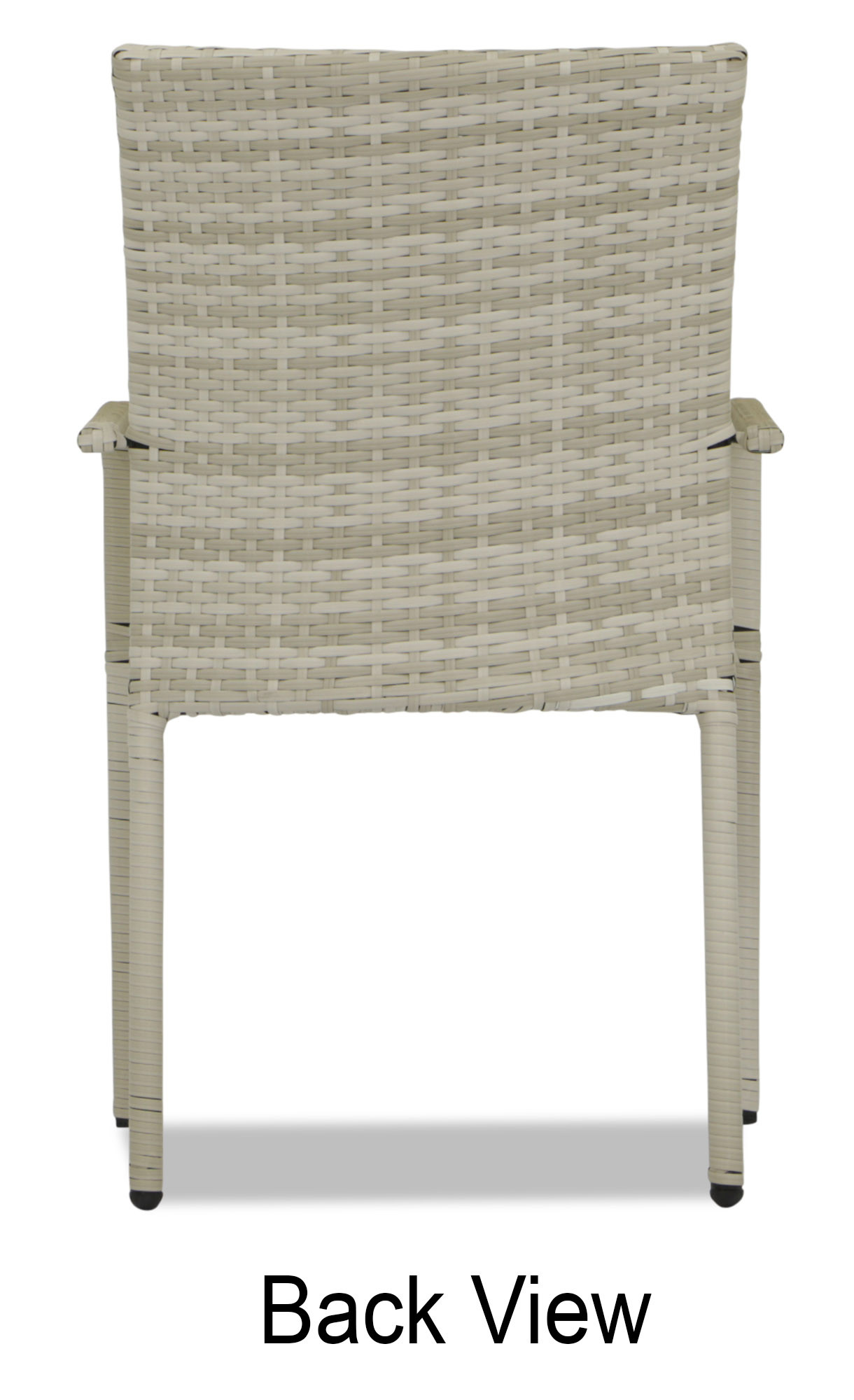 Wicker Outdoor Dining Chairs Wakiky Outdoor Dining Chair Cream