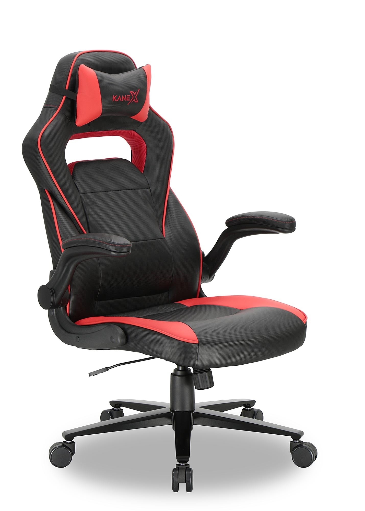 Gamers Chairs Kane X Professional Gaming Chair Argus Red