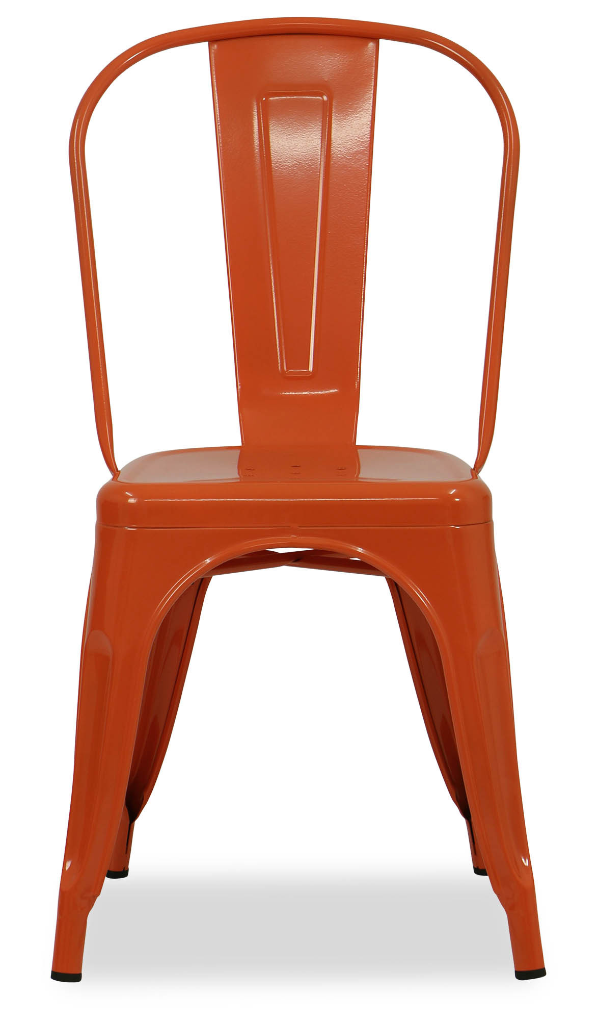 Metal Chairs Retro Metal Chair Orange Dining Chairs Dining Room