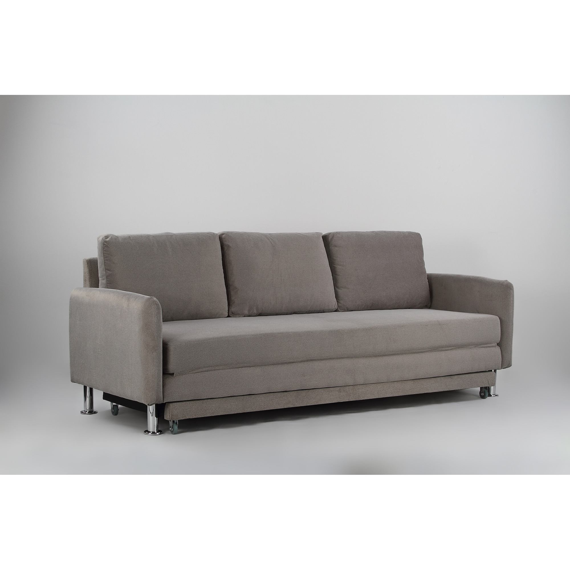 Pull Out Chair Cozy 3 Seater Grey Pull Out Sofa Bed Furniture And Home