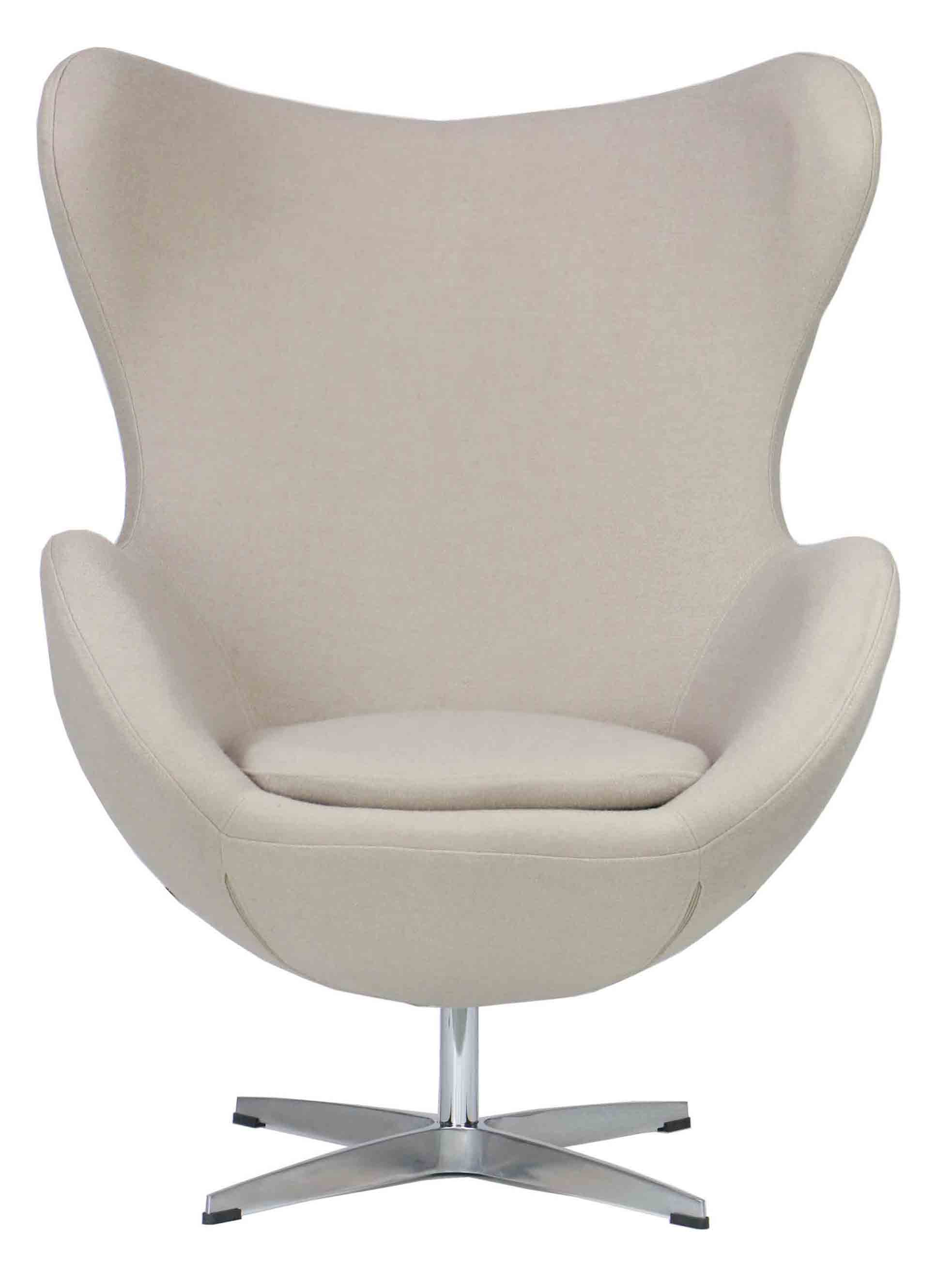 Egg Chairs Designer Replica Egg Chair In Cream Furniture And Home