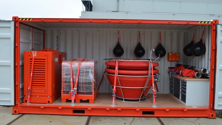 340 fully containerized