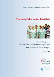 Cover Ehrenamt in der Geriatrie