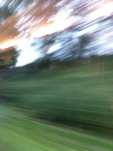 Foto 10 Barbara Eifert, Blick aus dem Zugfenster