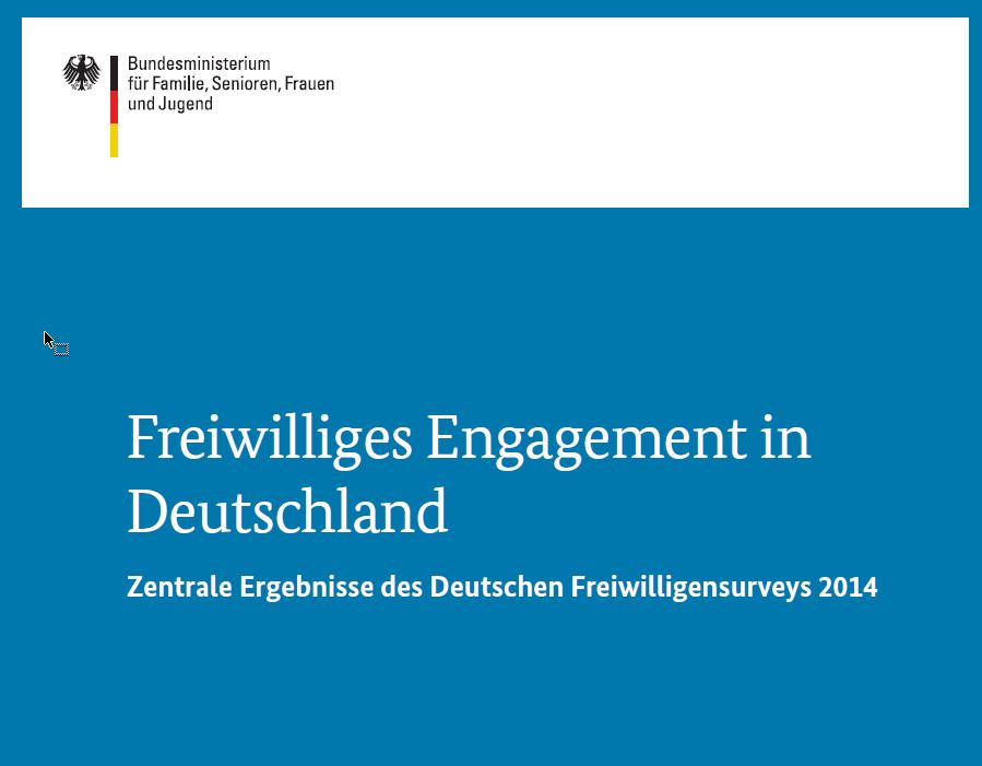 Cover Freiwilligensurvey 2016