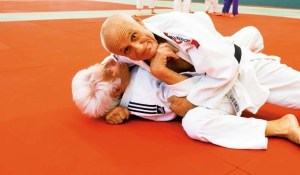 Judo im hohen Alter