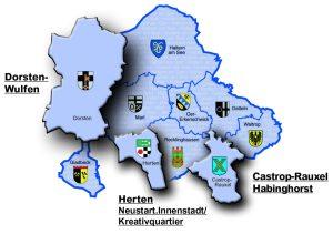 Karte DigiQuartier