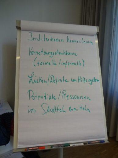 Metaplanwände Aufbau eines SeniorenNetzwerks (1)