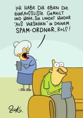 """1. Preis Online oder Offline: """"SPAM-Ordner"""" von Martin Zak"""