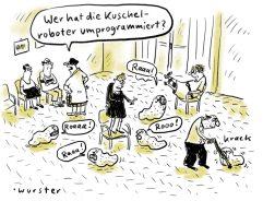 """Sonderpreis """"Kuschelroboter"""" von Miriam Wurster"""