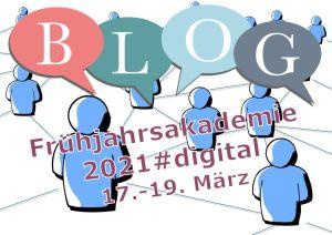Illustration zum Micro-Blog der Frühjahrsakademie 2021