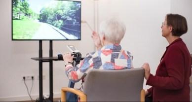 Screenshots aus dem Video von Bike Labyrinth