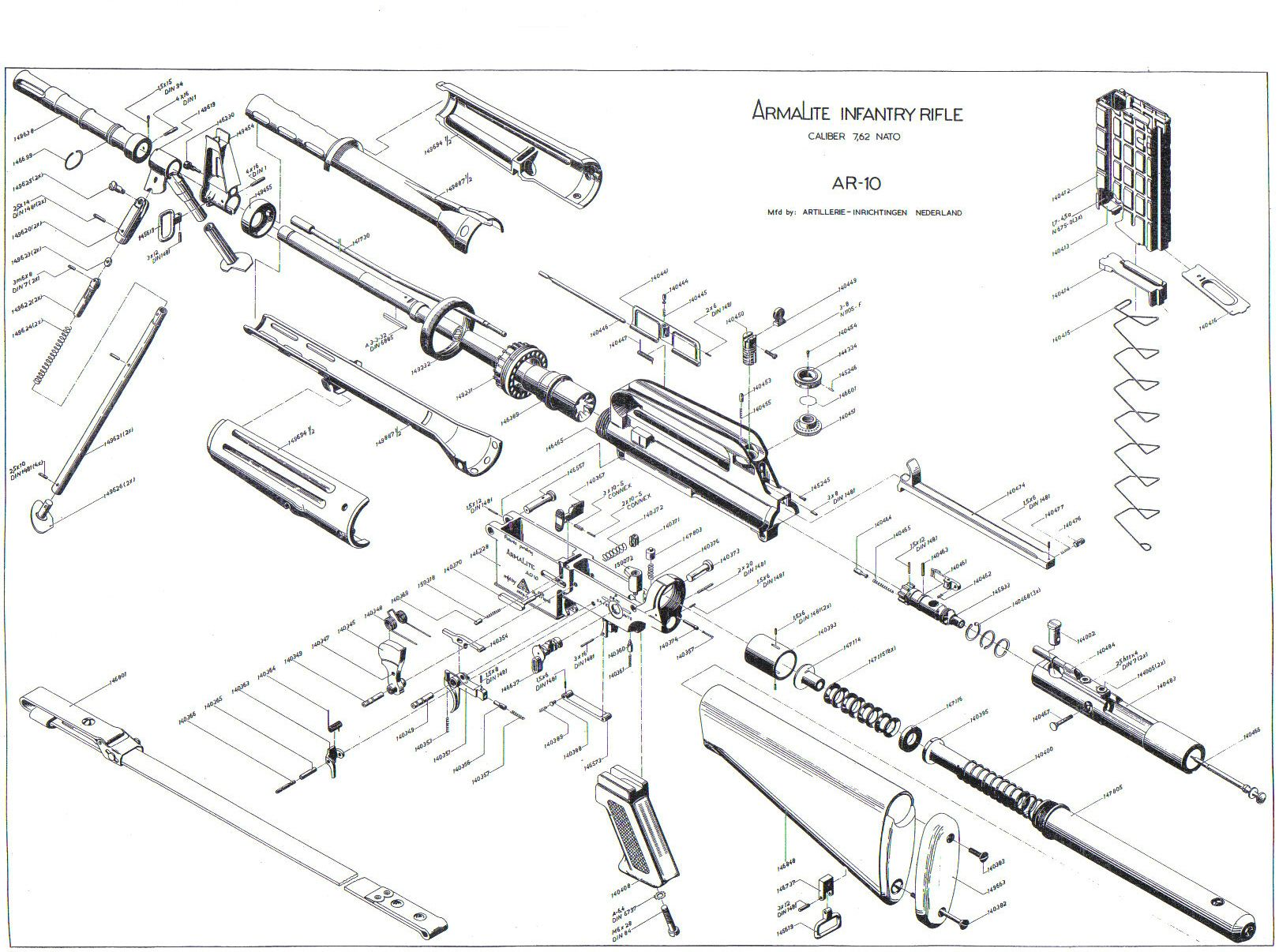 m16 upper receiver assembly diagram directv swm dish wiring lr308 bolt ar10 general discussion 308ar