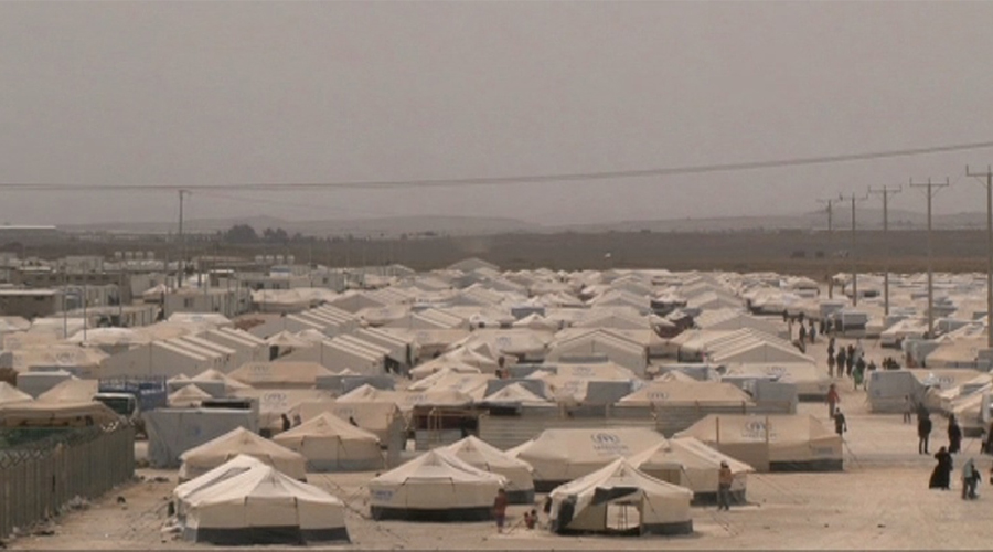 Un camp de refugiats