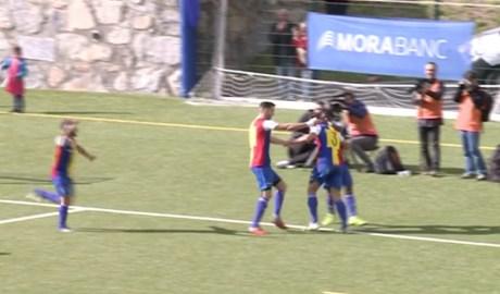 Un partit del FC Andorra