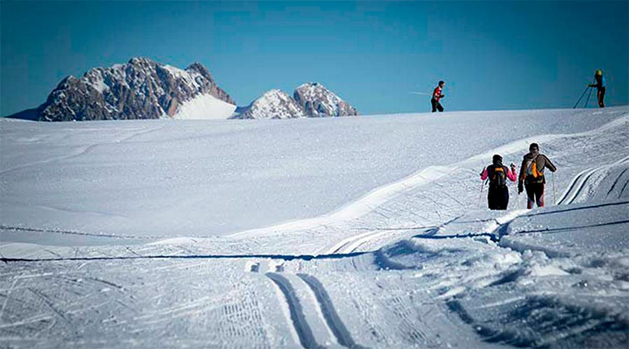 Una estació d'esquí nòrdic
