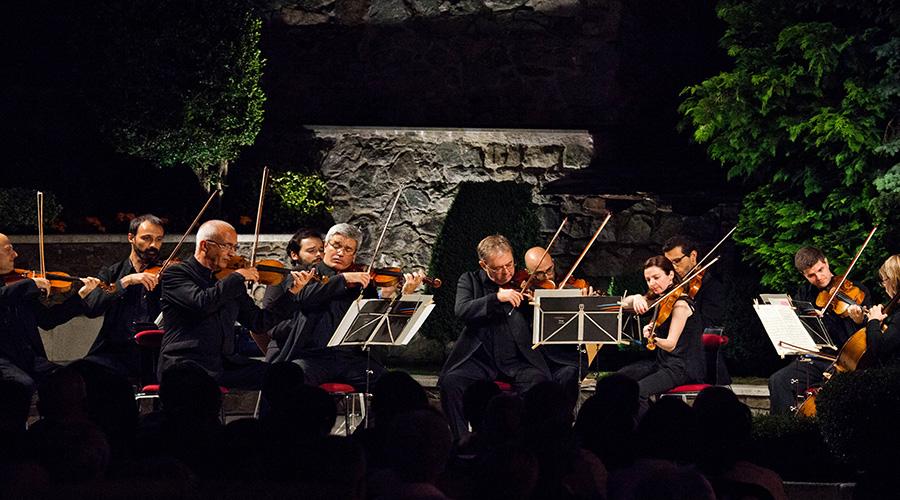Concert als Jardins de Casa de la Vall del 2014. Foto: Eduard Comellas