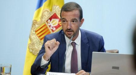 El ministre d'Ordenament Territorial, Jordi Torres,