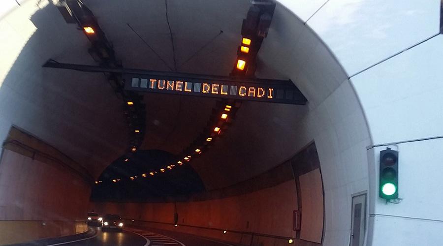 El túnel del Cadí