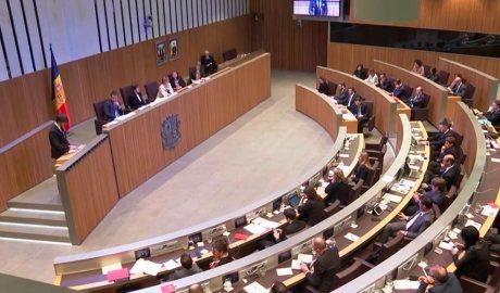 Una sessió del consell general
