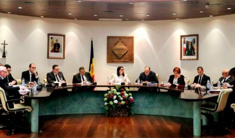 Una sessió del Consell de Comú d'Encamp