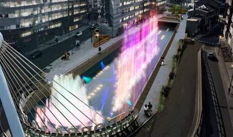 Projecte de font de colors al riu Valira