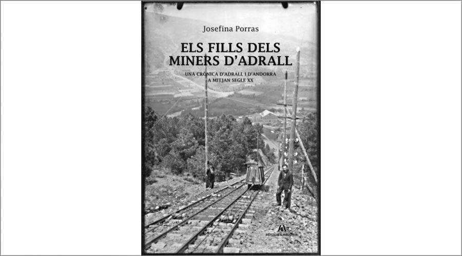Portada del llibre 'Els fills dels miners d'Adrall'