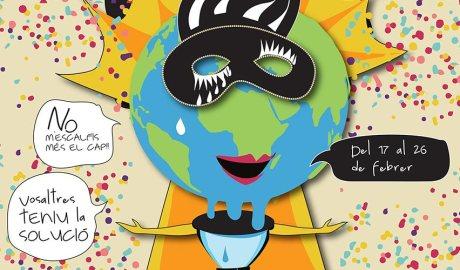 Una part del cartell de Carnaval de la Seu d'Urgell 2020