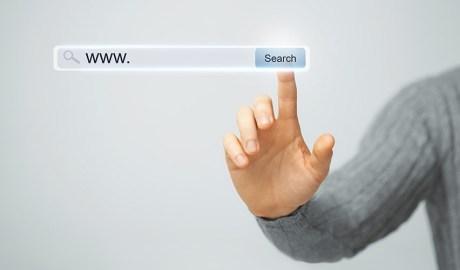 Clicant a la cerca d'internet