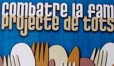 Imatge d'un cartell de Mans Unides.