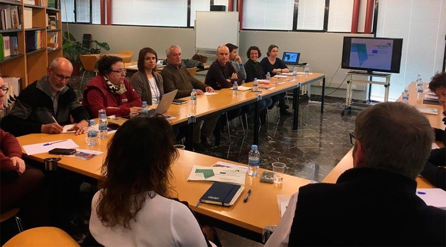 grup de treball del Projecte europeu Last Mile