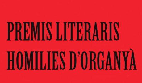 Una part del cartell dels premis literaris
