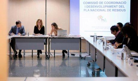 Rossell, Calvó, Ferrer presidint la Comissió de coordinació del Pla Nacional de Residus