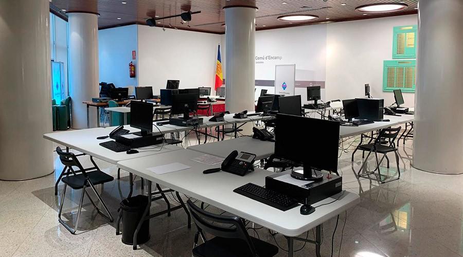 Call Center d'Encamp