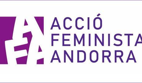 Logotip Acció Feminista Andorra