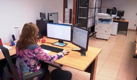 Despatx d'una notaria