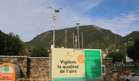 Una estació de control de l'aire