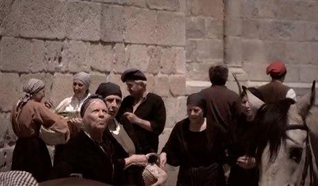 """Una escena de """"Maleïda 1882"""" rodada a la Seu d'Urgell"""