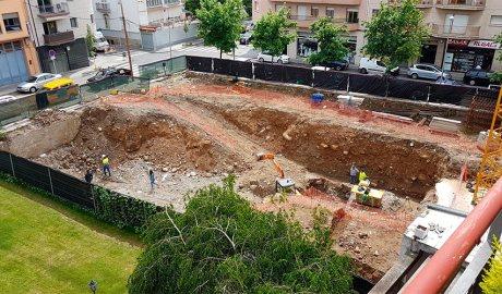 Es reprenen les obres del nou CAP de la Seu d'Urgell (Foto: FSH)