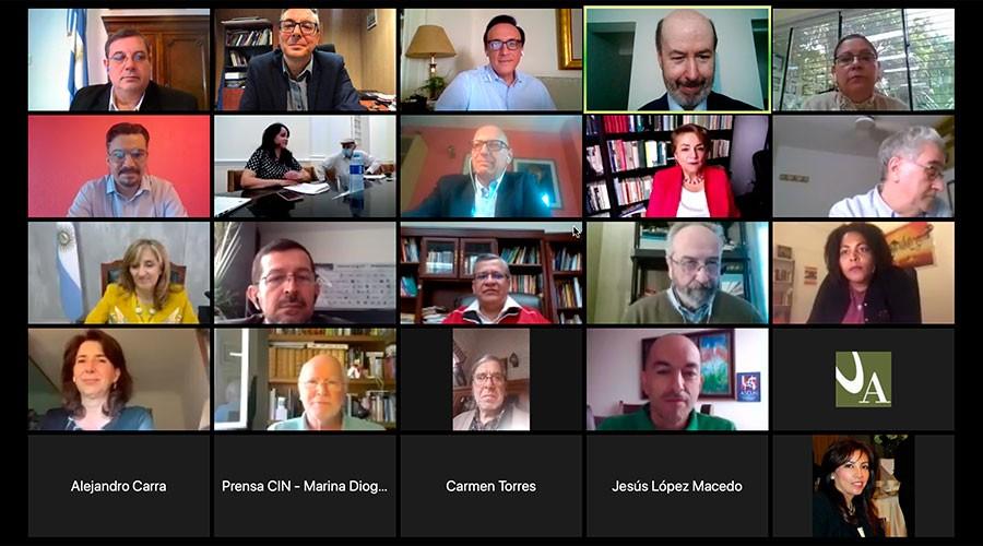 Ple telemàtic de la Cimera Universitària Iberoamericana