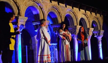 Representació del Retaule de Sant Ermengol l'any 2019