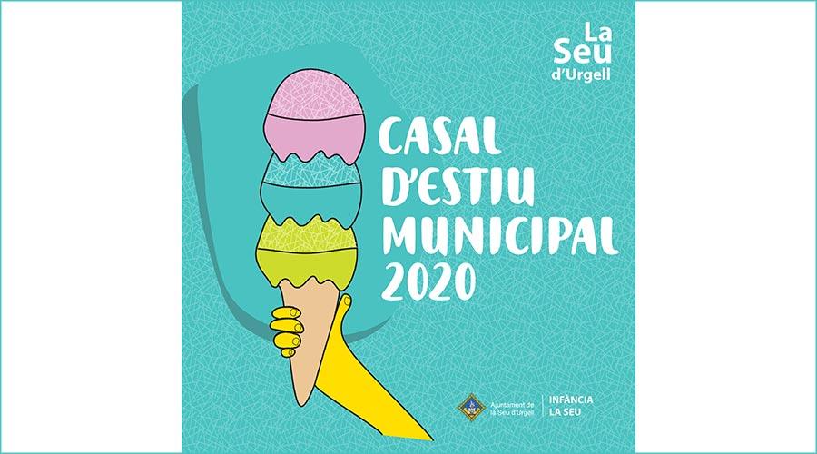 Imatge promocional del Casal d'Estiu de la Seu d'Urgell