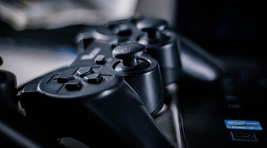 Un comandament de videojoc