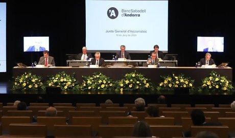 Junta general del Banc Sabadell d'Andorra