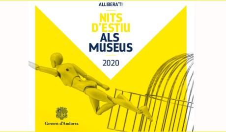 Cartell de les Nits d'estiu als Museus