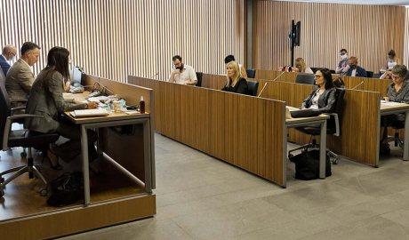 Sílvia Riva compareix davant la comissió legislativa de Comissió Legislativa d'Educació, Recerca, Cultura, Joventut i Esports