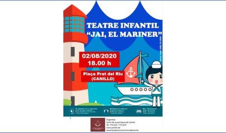 Cartell de l'espectacle infantil 'Jai, el mariner'