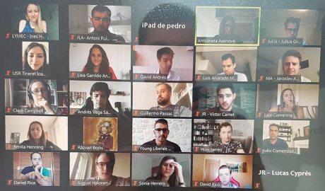 Reunió del projecte Lymec de joves liberals europeus